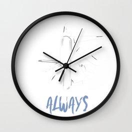Utility Always Wall Clock