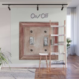Switch Plate Wall Mural