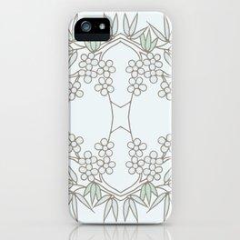 Tian Tai Flower pattern iPhone Case