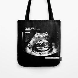 Food Baby Burger Tote Bag