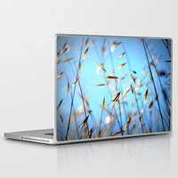 grass Laptop & iPad Skins featuring grass by  Agostino Lo Coco
