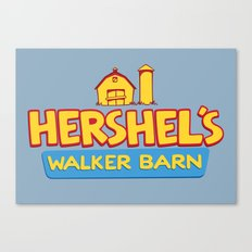 Hershel's Walker Barn Canvas Print