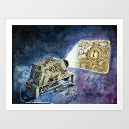 About kraken & movies Art Print