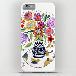 Calico Bouquet iPhone Case