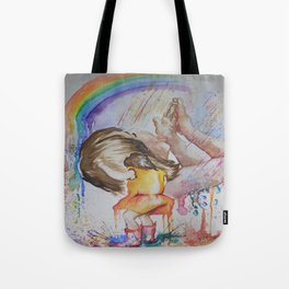 Consuming Positivity Tote Bag