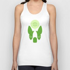 Boston Terrier Thoughts: Ball. Unisex Tank Top