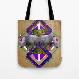 Rhinoceroses  Tote Bag