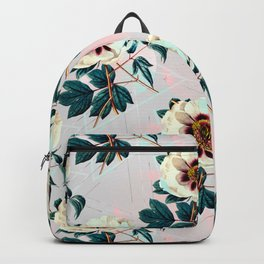 Flowery blooming with geometric Backpack
