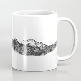 Pike's Peak Colorado Mountain Art Coffee Mug