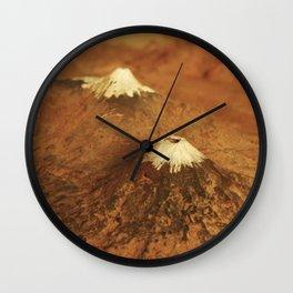 Volcanes Wall Clock