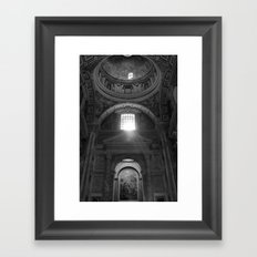 Vatican View Framed Art Print