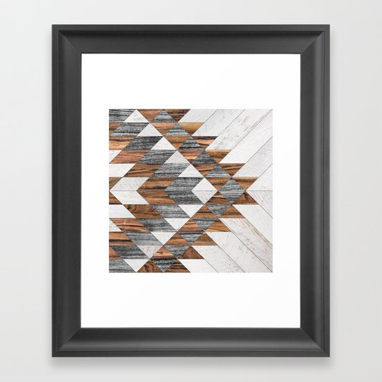 Urban Tribal Pattern No.12 - Aztec - Wood by zoltanratko