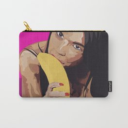 Dillion Harpers banana Carry-All Pouch