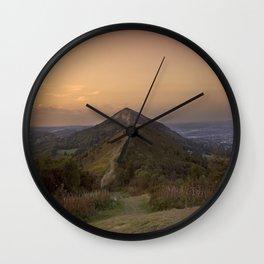 Malvern Hills Wall Clock