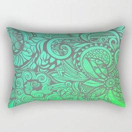 Summertime & the Livin's Easy Rectangular Pillow