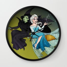 Defying Gravity and Let It Go  Wall Clock
