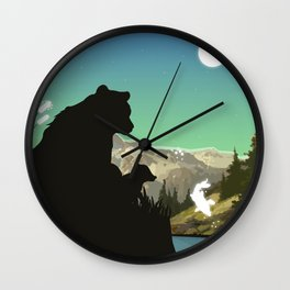 Out For Adventure Wall Clock