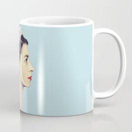 QUEEN ELIZABETH II - THE YOUNG QUEEN IN PROFILE Coffee Mug