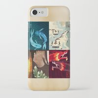 airbender iPhone & iPod Cases featuring Original Bending Masters Series by miss-meza
