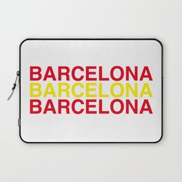 BAECELONA Laptop Sleeve