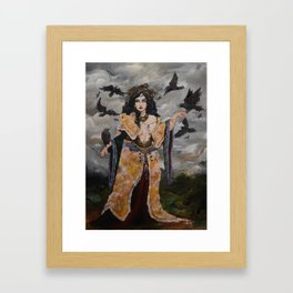 The Morrígan (The Great Queen) Framed Art Print