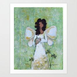 Angel of Abundance Art Print