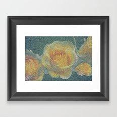 promised  a rose garden Framed Art Print