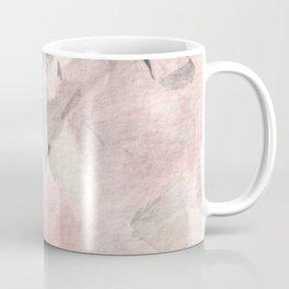 Morganite Crystal Watercolor Coffee Mug