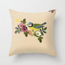 Song Bird 1 Throw Pillow