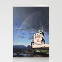 homer Stationery Cards featuring Homer, Alaska by Chris Rod