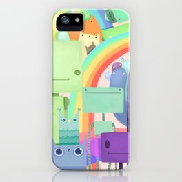 Who the What iPhone Case