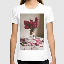 Coffee and Crepe Myrtles T-shirt