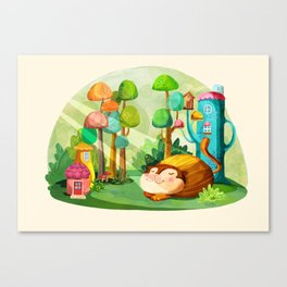 Naptime Canvas Print
