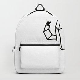 Geo Cactus Backpack