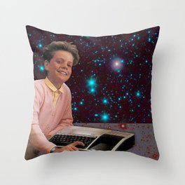 Cosmic Computing Throw Pillow