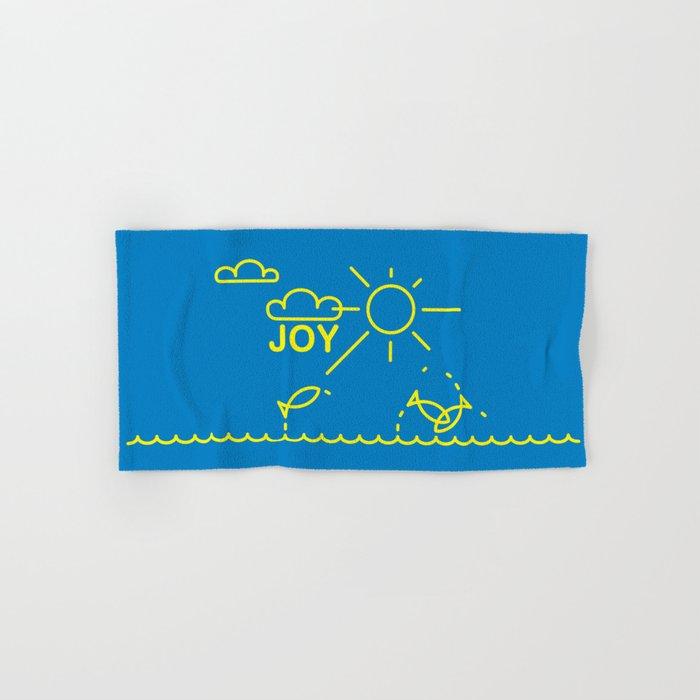 J O Y Hand & Bath Towel