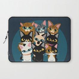Nine cats Laptop Sleeve