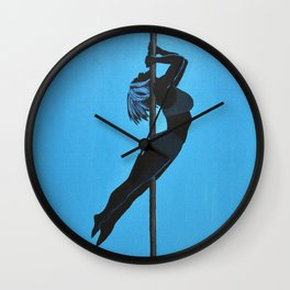 The Mermaid | Pole Dancer Series Wall Clock