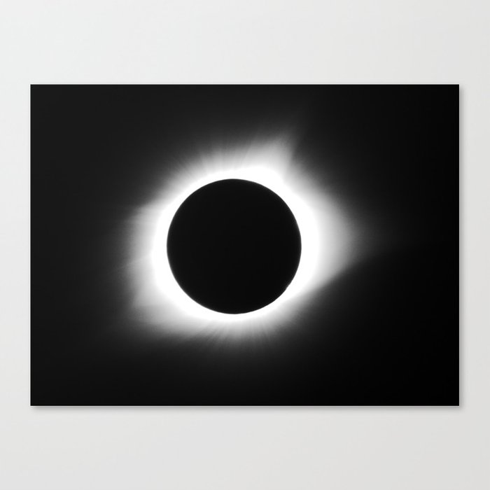 totality 2017 Canvas Print