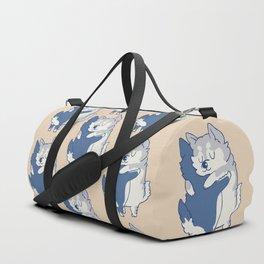 Husky Hugs Duffle Bag