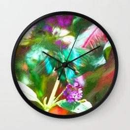 Alas De Impresion Wall Clock