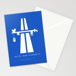 AutoBan Yourself Stationery Cards