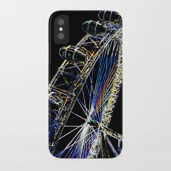 The London Eye Art iPhone Case