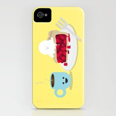 Coffee and Pie iPhone (4, 4s) Slim Case