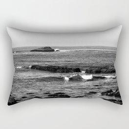Grey Sea Rectangular Pillow