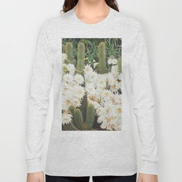 Cactus and Flowers Long Sleeve T-shirt