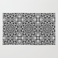 oriental Area & Throw Rugs featuring Oriental Pattern by LebensARTdesign