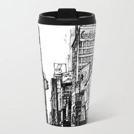 NYC Times Square Travel Mug