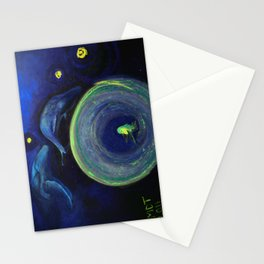 Humming in the vortex Stationery Cards