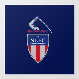 NEFC (English) Canvas Print